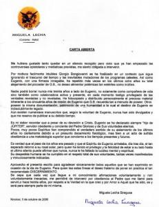 Michela Lettera in spagnolo