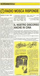 Radio Mosca e China