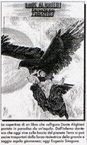 Dante con las alas del Águila