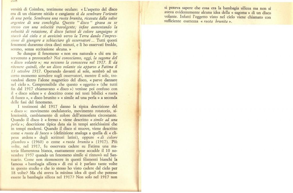 Fenomeno Solare come Fatima a Lisbona alla presenza di Eisenhower 2