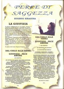 Eugenio Siragusa LA GIUSTIZIA