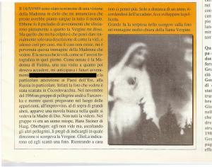 Fatima visione della Madonna simile come in Cecoslovacchia