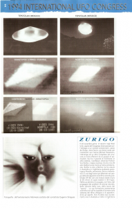 Foto Adoniesis al congresso di ufologia del 1994