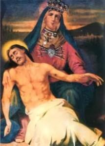 La Madonnina dell Addolorata di Osimo protagonista del prodigio di aver aperto gli occhi