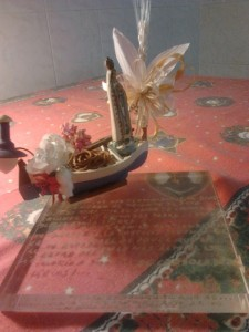La Madonnina della Barca a casa Di Filippo e Belèn