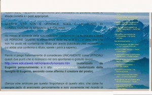 Polemica con Pastor sito ufficiale 1