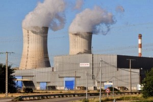 centrale nucleare cruas francia meridionale