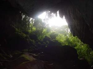 Caverna di luce che si rivela!