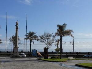 Luogo della Folgorazione: Piazza Dei Martiri a Catania com'è oggi Nov.2012                                                                    (Foto Sole Giraudo)