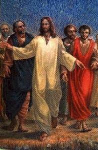 Gesù con i suoi discepoli