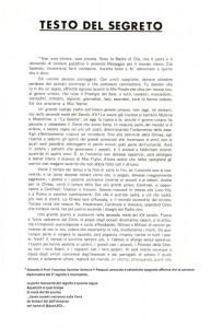 Segreto di Fatima con aggiunta pagina 2