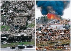 Tornado in Oklahoma U.s.a.