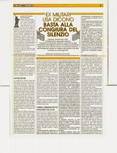 Basta alla congiura del silenzio NONSIAMODOLI Ago-Sett.1988 N°1