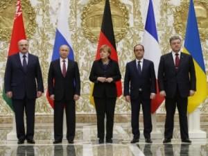 L'accordo di Minsk in Bielorussia