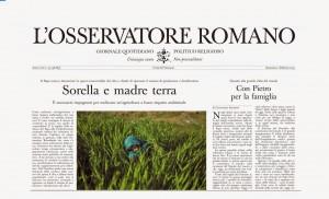 Osservatorio Romano Sorella e Madre terra